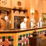 日本最大級の窯があるディズニーシーにあるレストランは「リストランテ・ディ・カナレット」です。